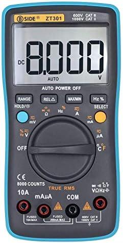 Tyannan LCDデジタルマルチメータ高精度マルチメータバックライトZT301Digital LCDマルチメータ電気ハンドヘルド