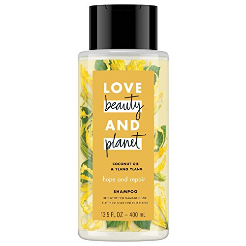 Love And Planet Shampoo Oil 13.5 oz, count