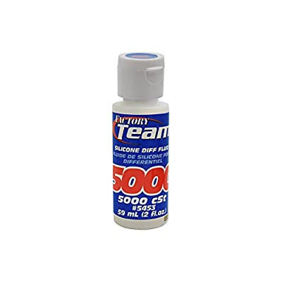 Team Associated 5453 Factory Team Silicone Differential Fluid, 5000CST: Toys & Games