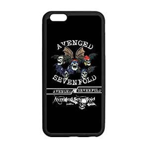 LeonardCustom A7X Avenged Sevenfold Hard Durable Rubber Coated Cover Case for iPhone 6 Plus 5.5 inch -LCI6PU188 by runtopwell