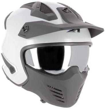 Casque jet homologu/é Coque en polycarbonate Casque de moto jet Elektron Matt black M Casque jet 4 en 1 Astone Helmets