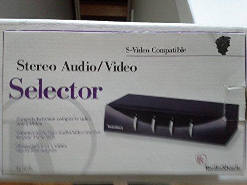 Radio Shack Stereo Audio / Video Selector S-Video Model 15-1976 (S-video Radio Shack)