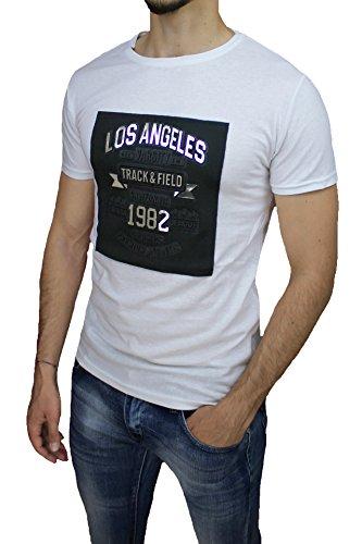 Mat Sartoriale Herren T-Shirt weiß Bianco Large