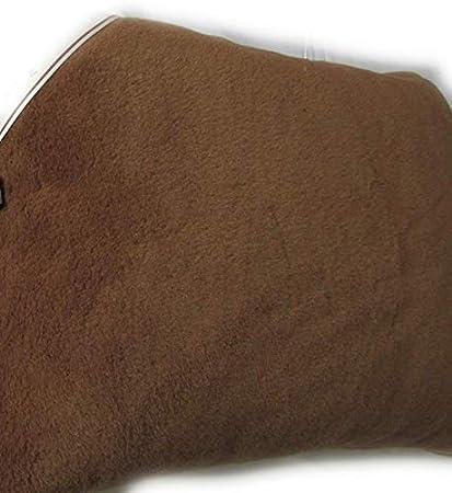 Almohada Almohada Pelo Natural cojín Lana de Camello + Lana de Merino 40 x 60 cm