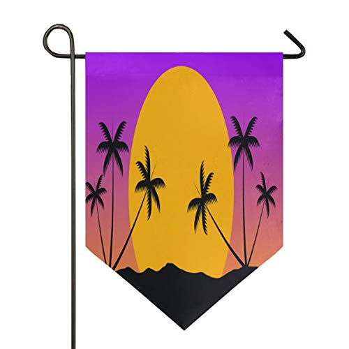 LeeBelle Garden Flags DIY Fashion Personality, 12''×18''&28''x40'' 2-Size Holiday Garden Flags, Suitable for Outdoor Season Decorations for All Seasons and Holidays ()