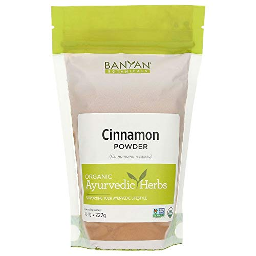 Banyan Botanicals Cinnamon Powder - Certified Organic, 1/2 lb - Cinnamomum cassia - Renowned household spice that supports healthy digestion