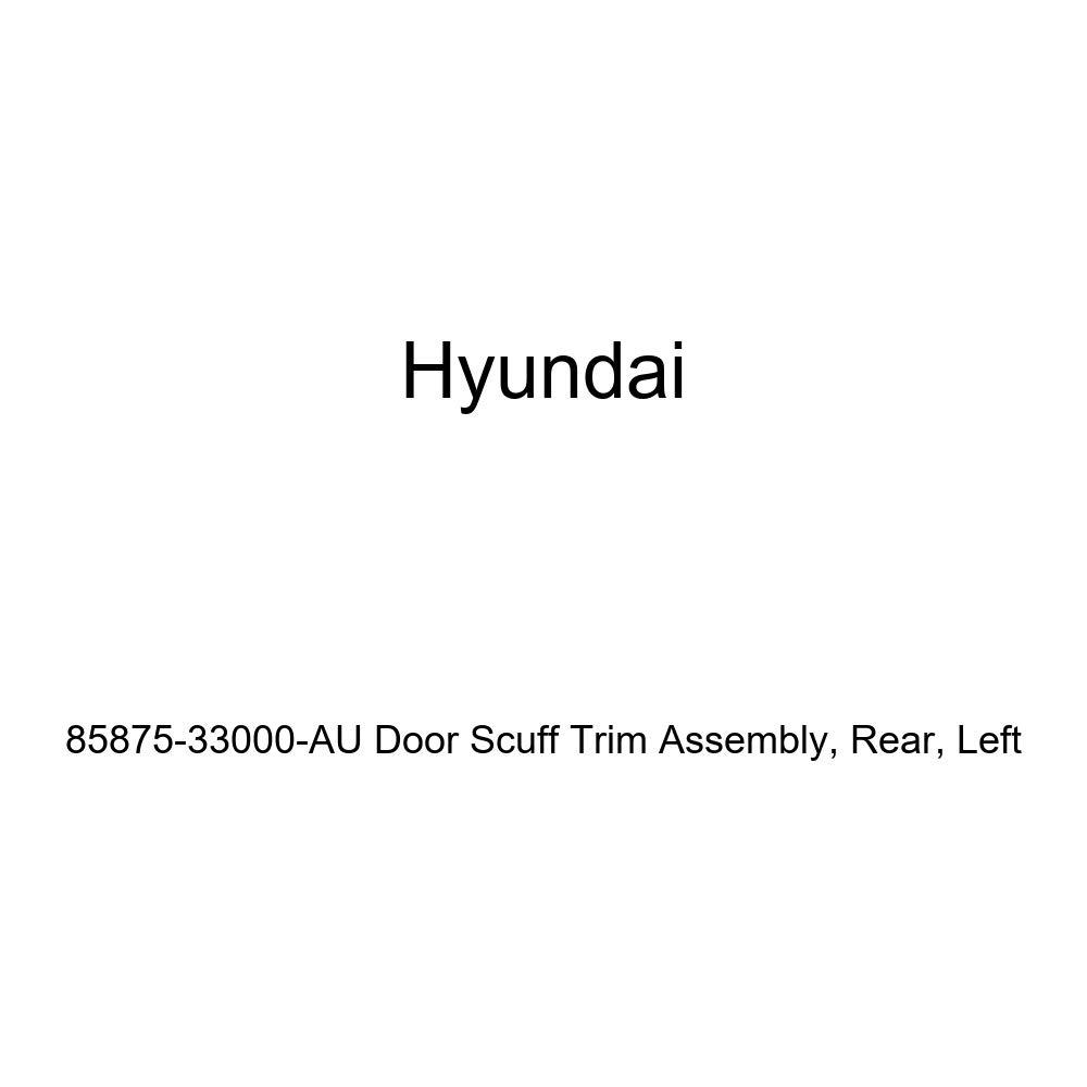 Rear Left Genuine Hyundai 85875-33000-AU Door Scuff Trim Assembly