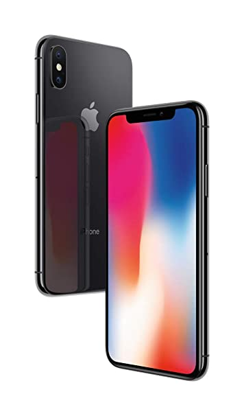 Apple iPhone X (64GB) - Space Grey at amazon