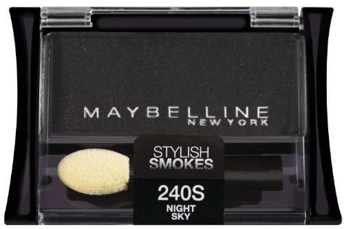 Maybelline New York Expert Wear Eyeshadow Singles, Night Sky 240s Stylish Smokes, 0.09 Ounce