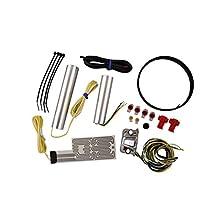 Heat Demon 212055 Chrome Right Mount Motorcycle Grip Heater Kit