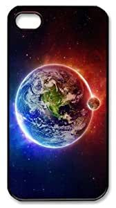 iphone 4 case buy Universe planet N001 PC Black for Apple iPhone 4/4S