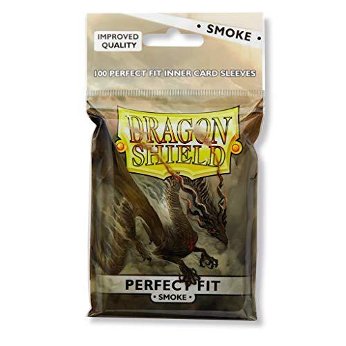10 Packs Dragon Shield Inner Sleeve Smoke Standard Size 100 ct Card Sleeves Display Case by Dragon Shield (Image #5)