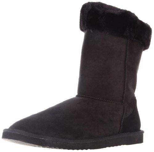 Barefoot Tess Women's Boulder Foldover Boot,Black,12 M US