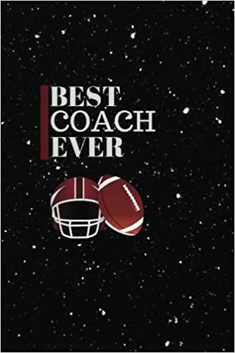 Best Coach Ever Thank You Appreciation Gift Ruled Memory Book To