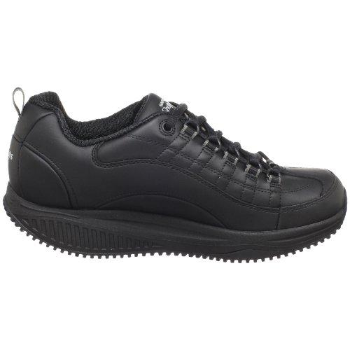 Skechers Para Forma trabajo Ups 76455 X Use Sr-registrar la zapatilla de deporte Black
