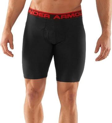 Under Armour MenÕs Original Series 9Ó Boxer Jock Boxer Briefs, Black / Red from Under Armour