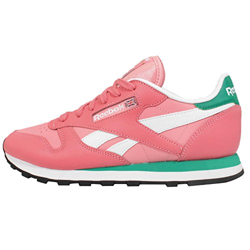 Cl Seasonal Mode Femme Leather Rose Basket Ii Reebok zxW6dnx