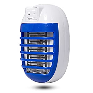 Gogogu 2 Pack Electronic Insect Killer Mosquito Trap Bug Zapper Mosquito Killer Lamp Eliminates Flyin
