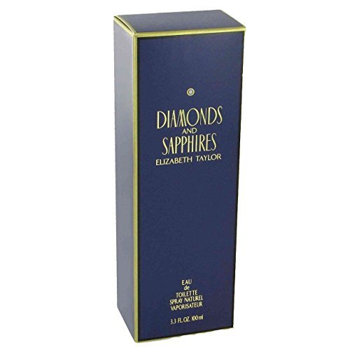 Elizabeth Taylor Diamonds & Sapphires Edt Ladies Fragrance Spray For Her 100ml by Elizabeth Taylor