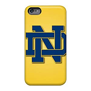KimberleyBoyes Apple Iphone 6 Plus Scratch Protection Phone Cover Provide Private Custom Nice Notre Dame Fighting Irish Pictures [fnr6690oZju]