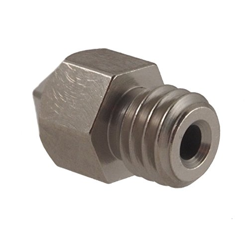 Micro-Swiss-HW-NOZ-MK8-04-Plated-Brass-Wear-Resistant-Nozzles-175-mm-MK8-Makerbot-04-mm-Bright-Nickel
