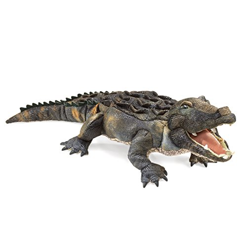 Alligator Puppet - Folkmanis American Alligator Hand