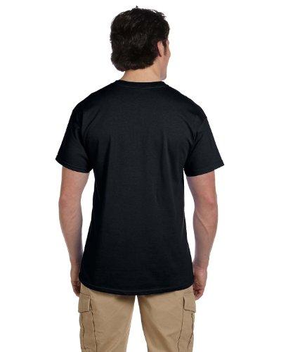 Fruit of the Loom HD Cotton Short Sleeve T-Shirt_Black_L