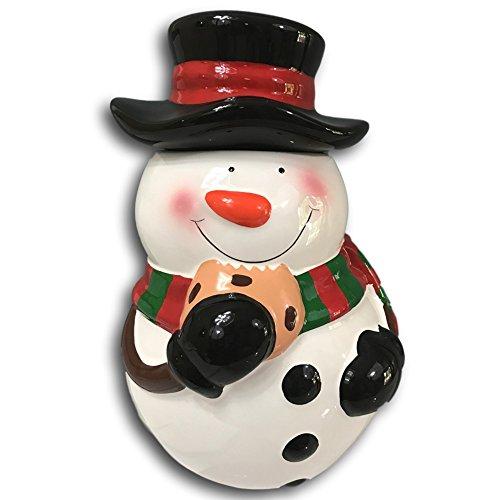round-snowman-cookie-treat-jar-flower-vase-decorative-ceramic