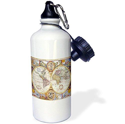 3dRose wb_205043_1 Sports Bottle Multicolor