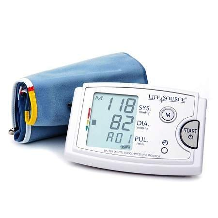 LifeSource Automatic Blood Pressure Monitor for Extra Large Arms - 2PC