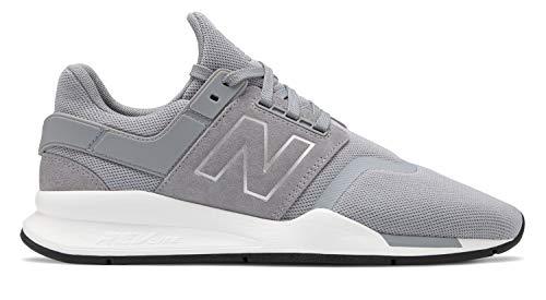 uomo 247v2 Argento New Acciaio Steel Balance Sneakers da qS5gqIvw