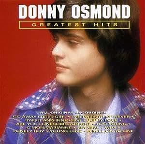 Donny Osmond Donny Osmond Greatest Hits Amazon Com Music