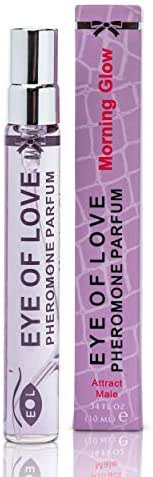 Eye of Love - Morning Glow Pheromone Perfume Spray for Women to Attract Men - Confidence & Elegance - Extra Strength Human Pheromones Formula - 10ml Travel Size