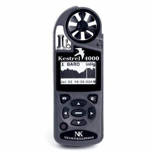 Kestrel 0840NV Pocket Weather Tracker with Weather Storage and Night Vision