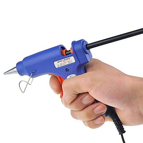 Toos Accessory 20W High Temperature Hot Melt Glue Gun, AC 100V-240V (S-E), Cable Length: Approx. 1.4m Hand Tools