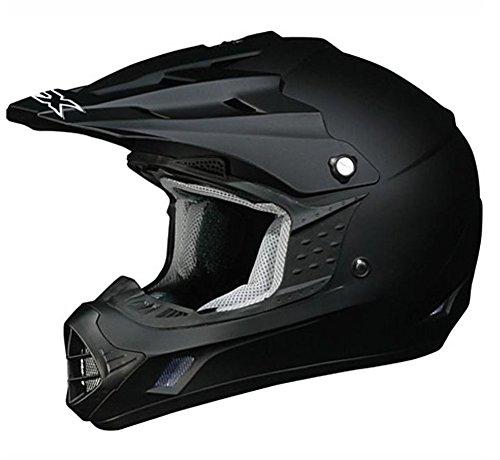 AFX FX-17 Unisex-Adult Off-Road-Helmet-Style Helmet (Flat Black, 4X-Large)