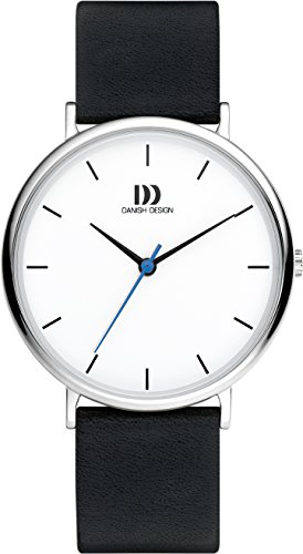 Danish Design Mens Analogue Classic Quartz Watch with Leather Strap DZ120658 ()