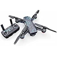 EXO Neptune Decal for drone DJI Spark Kit - Includes Drone Skin, Controller Skin and 1 Battery Skin