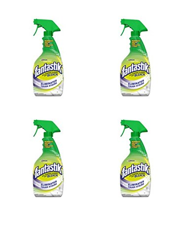 Fantastik 32 oz. All-Purpose Cleaner with Bleach Trigger (Pack of 4) (Packaging May Vary)