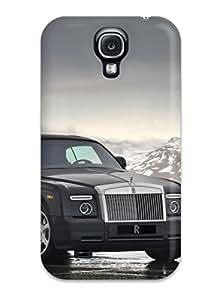 Galaxy S4 Case Bumper Tpu Skin Cover For Rolls Royce Background Wallpaper Accessories