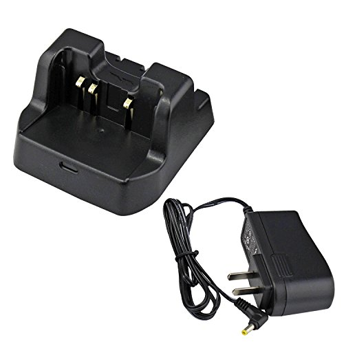 abcGoodefg 2 way Radio Battery Charging Dock Desktop Rapid Charger For Yaesu Vertex-Standard (Vertex Standard Transceiver)