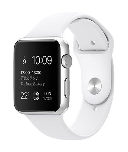 Apple Watch Sport 42mm MJ3N2J/A [ホワイトスポーツバンド]