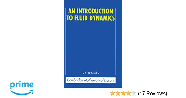An Introduction To Fluid Dynamics Batchelor Pdf