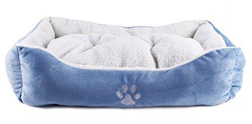 BPS® Cama para Perros y Gatos Cálido Cubierta Suave Tipo Cuna Mullida BPS-1528 (Rojo): Amazon.es: Hogar