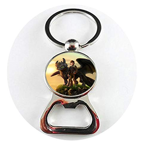 (How to Train Your Dragon Necklace Movie Pendant Dragon Jewelry Glass Photo Cabochon Bottle openers Literary Jewelry)