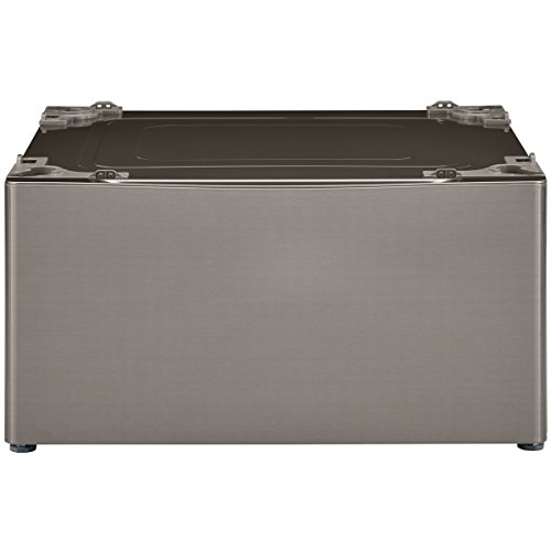"Kenmore 51123 13.7"" Laundry Pedestal with Storage Drawer in Metallic Silver, includes delivery and hookup"