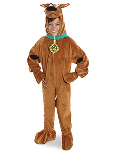 Scooby - Doo Child's Deluxe Scooby Costume, Medium -