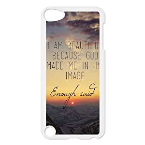 Fggcc Wall Outlet Hard Case for Ipod Touch 5,Wall Outlet Ipod Touch 5 Cover Case (pattern 1)
