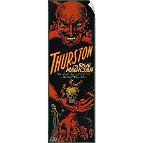 (CANVAS ON DEMAND Thurston The Great Magician Wall Peel Art Print, 16