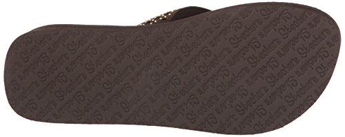 38648 Chocolate Donna Donna 38648 Skechers Chocolate Skechers Skechers Infradito Infradito fFp7q